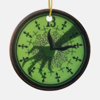 13 Hour Clock Ornament