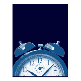 13 Hours Blue Postcard