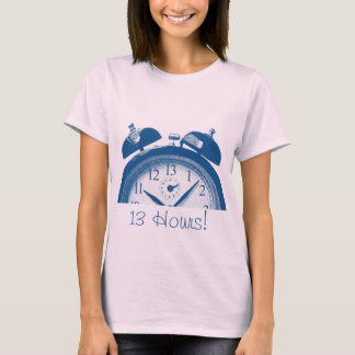 13 Hours Blue T-Shirt
