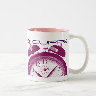 13 Hours red Two-Tone Coffee Mug