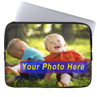 13 inch Customizable Laptop Covers with YOUR PHOTO Laptop Sleeves