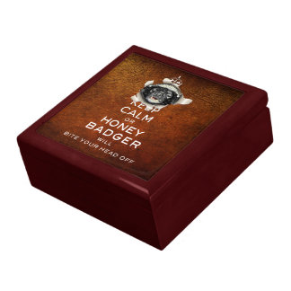 [13] Keep Calm or Honey Badger… Gift Box