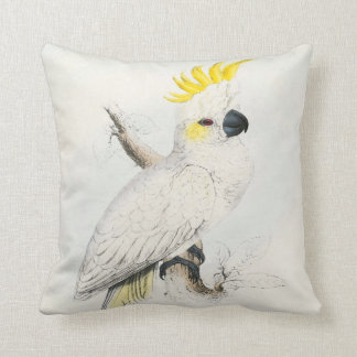 #13-Lesser sulfur-crested cockatoo Throw Pillow