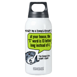 13 Letter Word Insulated Water Bottle