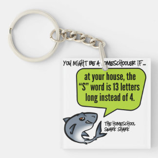 13 Letter Word Keychain