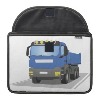 "13"" MacBook bag of blue building sites truck MacBook Pro Sleeve"