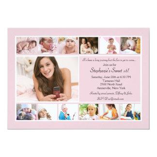 13 Photo Collage Invitation
