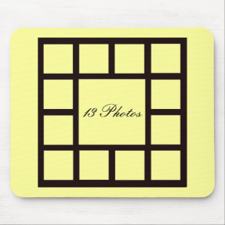 13 Photo Inserts ~ Mousepad