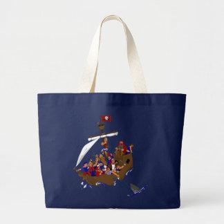 13 Pirates Canvas Bag