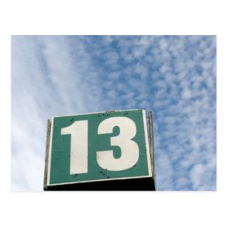 13 POSTAL
