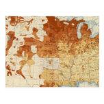 13 proporciones 1890 foreignborn tarjetas postales
