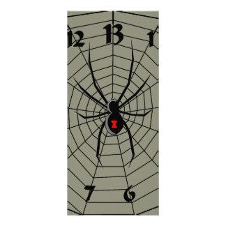 13 reloj de la araña de trece horas lona