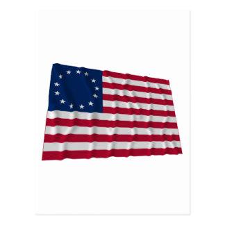 13-star flag, Betsy Ross pattern Postcard
