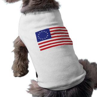 13-Star U.S. Flag Dog T-shirt