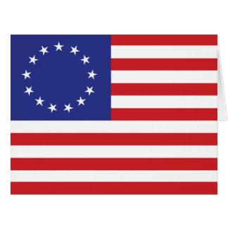 13-Star United States Flag Card