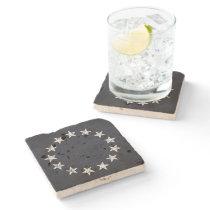 13 Stars Vintage Revolution Stone Coaster