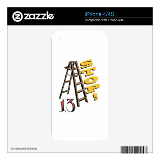 13 Stop Skin For The iPhone 4S