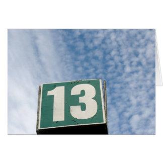 13 TARJETA DE FELICITACIÓN