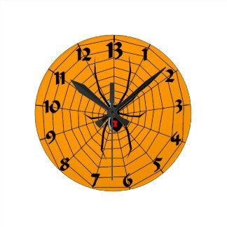 13 Thirteen Hour Spider Clock