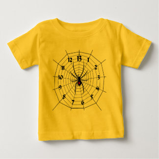 13 Thirteen Hour Spider Clock Baby T-Shirt