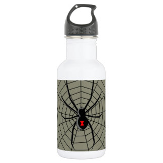 13 Thirteen Hour Spider Clockface Stainless Steel Water Bottle