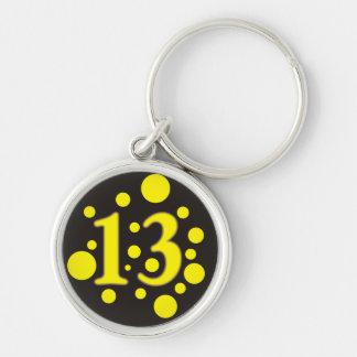 13-Thirteen Keychain