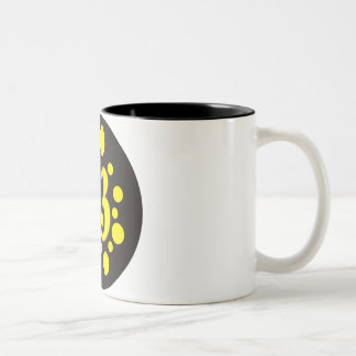 13-Thirteen Two-Tone Coffee Mug