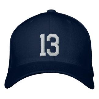 13 trece gorra de beisbol bordada