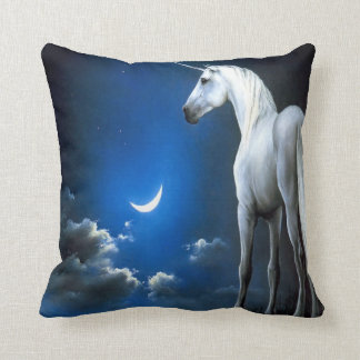 #13-Unicorn and the moon Pillow