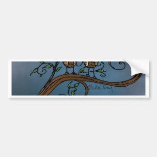 13 - Whoo's Whooo.jpg Bumper Sticker