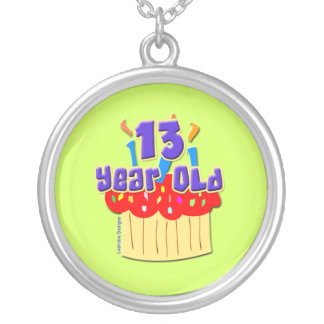 13 Year Old Round Pendant Necklace