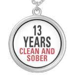 13 Years Clean and Sober Custom Jewelry
