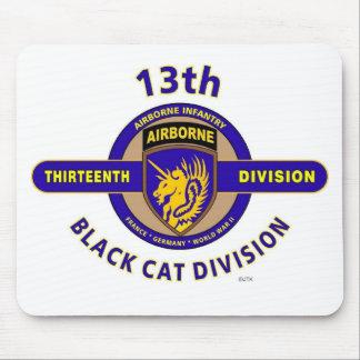 """13TH AIRBORNE DIVISION """"AIRBORNE CAT"""" DIVISION MOUSE PAD"""
