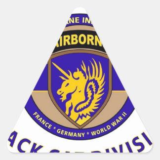 """13TH AIRBORNE DIVISION """"AIRBORNE CAT"""" DIVISION STICKERS"""