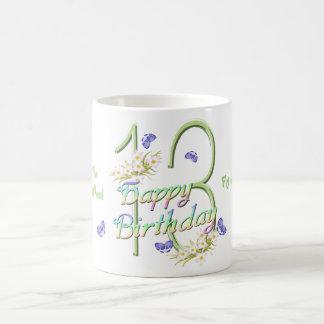 13th Birthday Butterfly Dance Mug