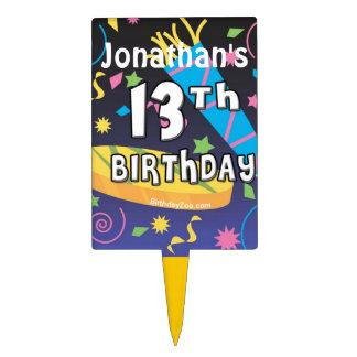 13th Birthday Cake Pick
