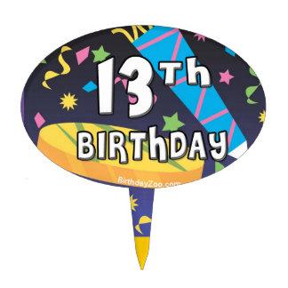 13th Birthday Cake Topper