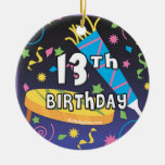 13th Birthday Christmas Tree Ornament