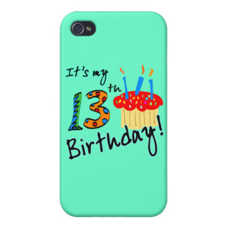 13th Birthday iPhone 4 Cases