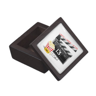 13th Birthday Movie Party Keepsake Box