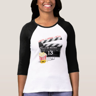13th Birthday Movie Party Tees