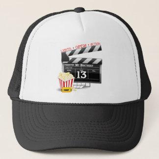 13th Birthday Movie Party Trucker Hat