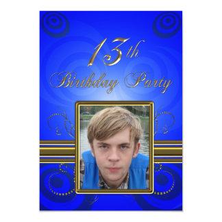 13th Birthday party Invitation