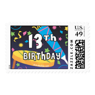 13th Birthday Stamps