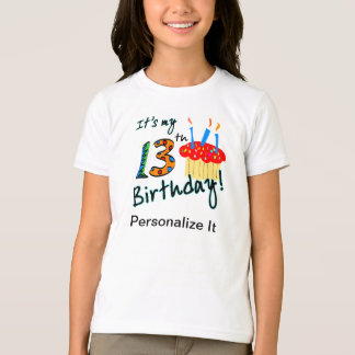 13th Birthday T shirt