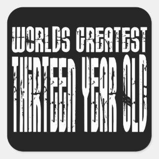 13th Birthday Worlds Greatest Thirteen Year Old Stickers