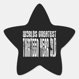 13th Birthday Worlds Greatest Thirteen Year Old Sticker