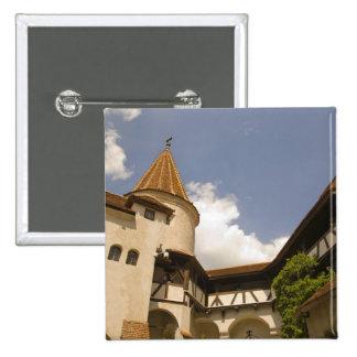 13th Century Bran Castle (Draculas' Castle), Pinback Button