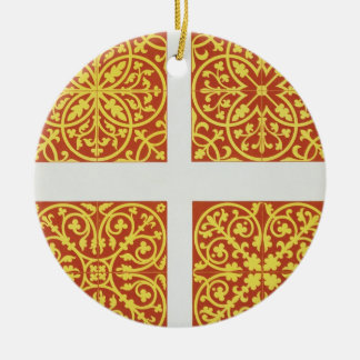 13th century tile designs, illustration from 'Spec Ceramic Ornament