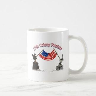 13th Colony Patriots Coffee Mug